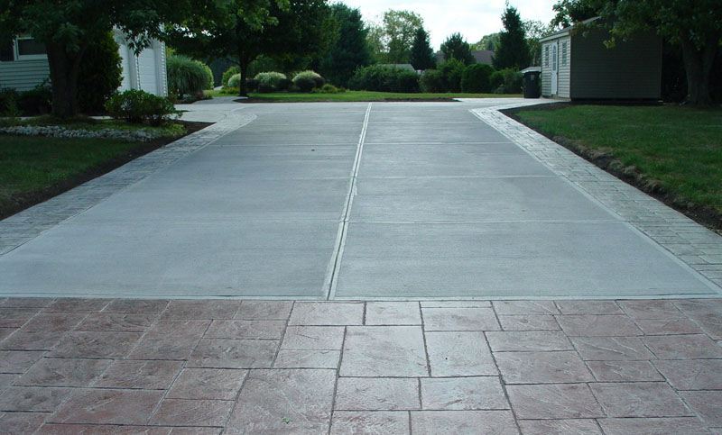 Concrete Driveway New Jersey Masonry Contractor