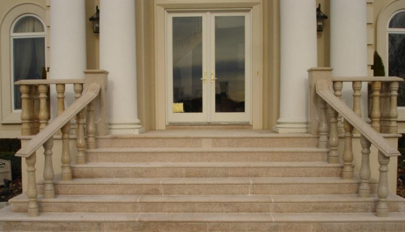 Granite Entrance Steps