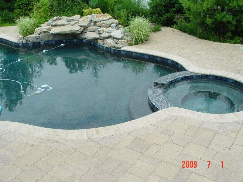 paver pool deck - new jersey masonry contractor