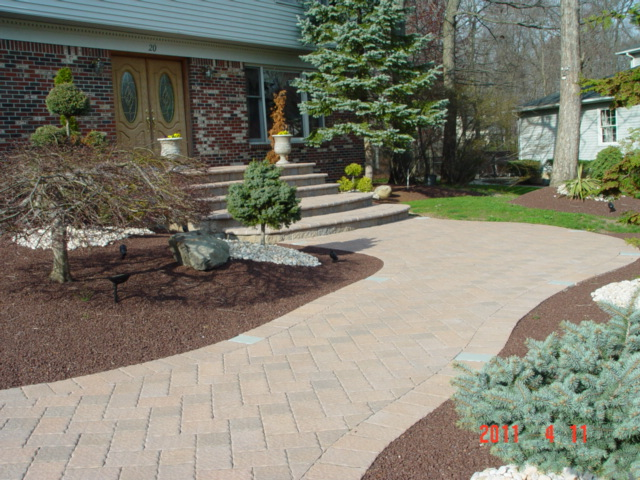 Paver Walkway and Steps