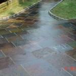 Slate Walkway with Steps