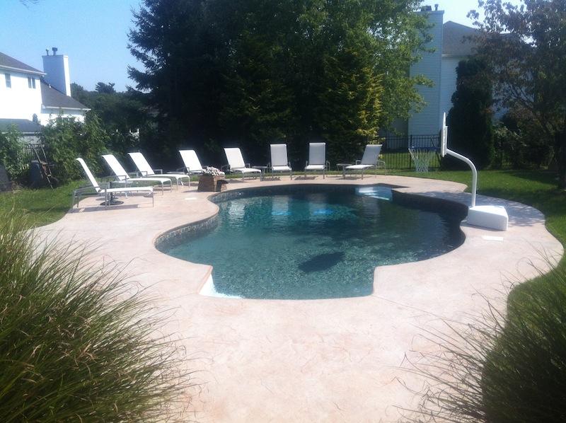 concrete pool deck nj