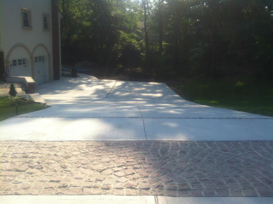 concrete driveway nj archives new jersey masonry contractor. Black Bedroom Furniture Sets. Home Design Ideas