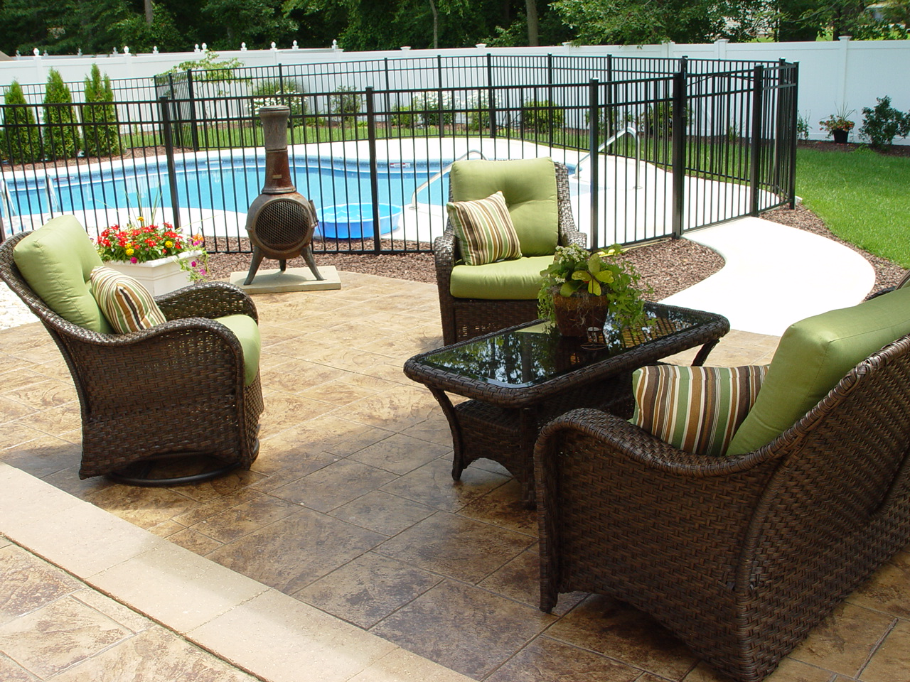 patio design ideas concrete patio morganville nj 07751 patio driveways 29810