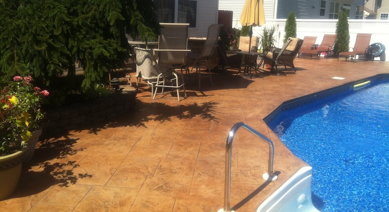 Ordinaire Stamped Concrete Patio Nj